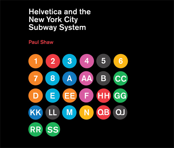 Helvetica and NYC Subway cover